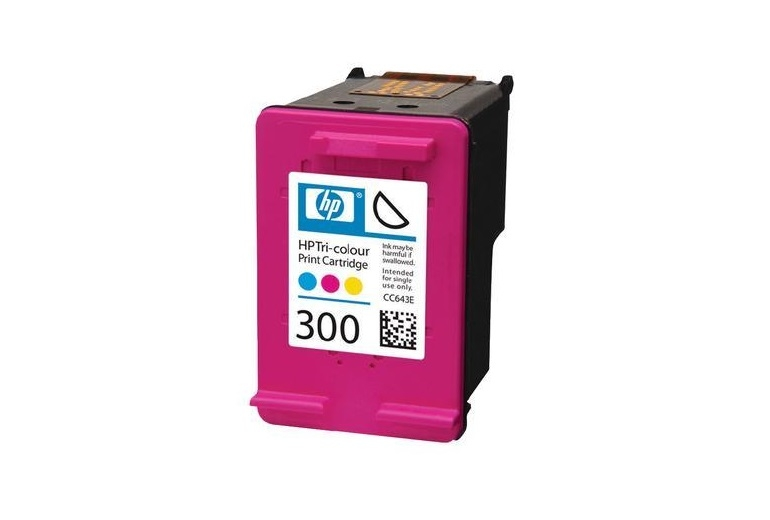 HP Μελάνι 300 Colour CC643EE